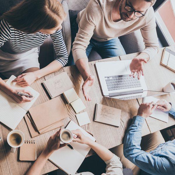 Business Meeting - Business Team Brainstorming